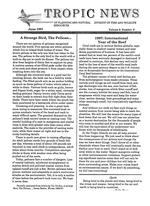 Tropic news. Volume 9. Issue 9.