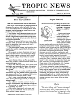 Tropic news. Volume 10. Issue 5.