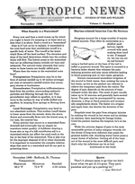 Tropic news. Volume 11. Issue 2.