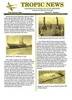Tropic news. Volume 13. Issue 1.