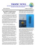 Tropic news. Volume 14. Issue 1.