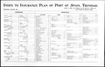 Index to insurance plan of Port of Spain, Trinidad : surveyed January, 1895