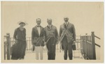 Estus H. Magoon (second from left) with others in Rio de Janeiro, Brazil