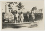 Estus H. Magoon (at right) with others in Jamaica