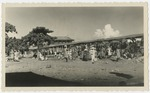 Open air market in Gros Morne, Haiti