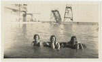 Girls at the Bournemouth Pool, Jamaica