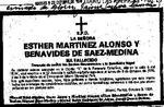 Martinez Alonso Family : Genealogical information from the Enrique Hurtado de Mendoza Collection