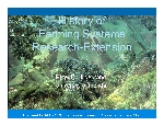 History of Farming Systems Research-Extension