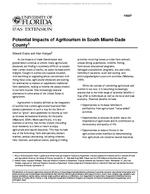 Potential Impacts of Agritourism in South Miami-Dade County