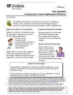 Vida Saludable: Consejos para Tomar Suplementos Dieteticos
