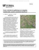 Como controlar los grillotopos en cespedes residenciales usando nematodos beneficos