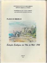 Plano de Manejo da Estacao Ecologica da Ilha do Mel