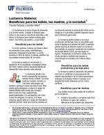 Lactancia Materna: Beneficios para los bebes, las madres, y la sociedad