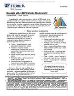 Mensaje sobre MiPirámide: Moderación