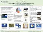 Librarians as leaders: Expanding 3D printing into the agricultural classroom