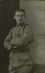 Albert Huet as a Soldier
