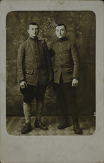 Albert Huet and a Fellow Soldier