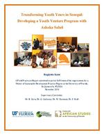 Transforming Youth Years in Senegal: Developing a Youth Venture Program with Ashoka Sahel