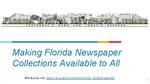 Old News, New Readers: Making Florida Newspaper Collections Accessible Training (English)