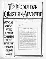 The Florida Christian advocate