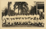 Canal Zone Shriners, circa 1920's - White Uniforms
