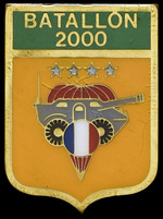 Battalion 2000 Tank Badge
