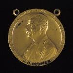 Roosevelt Medal No. 4393 awarded to J.G. Blumer, 1908-10