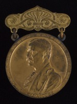 Roosevelt Medal No. 612 awarded to W. T. Coburn, 1905-07