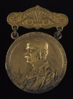Roosevelt Medal No. 3871 awarded to J.W. Sutcliffe, 1908-10