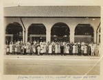 Postal DIvision - 1937 - in front of Balboa Post Office