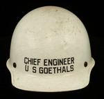 Chief Engineer R.H. Enoch's Hard Hat