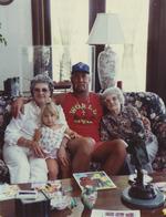 "Ruth Moody Bollea, Brooke Bollea, Terry ""Hulk Hogan"" Bollea, and Vernice Moody,"