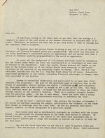 Letter from Arthur J. Wynne
