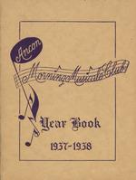 Ancon Morning Musical Club Year Book