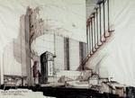 Temple Beth El, Synagogue - Rendering of Interior