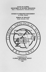 Hydrogeological units of Florida ( FGS: Special publication 28 )