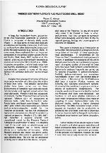 Plio-Pleistocene stratigraphy and paleontology of southern Florida ( FGS: Special publication 36 )