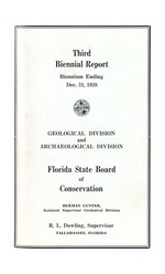 Biennial report, Florida State Board of Conservation, Geological and Archaeological Divisions