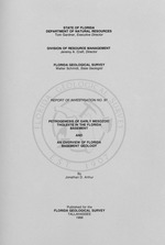 Petrogenesis of Early Mesozoic tholeiite in the Florida basement and an overview of Florida basement geology ( FGS: Report of investigation 97 )