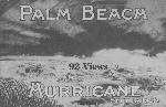 Palm Beach hurricane, Sept. 16, 1928