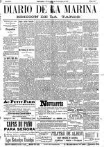 Diario de la Marina ( 11/7/1900 )