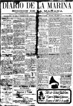 Diario de la Marina ( 3/10/1907 )