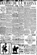 Diario De La Marina March 9 1906