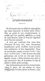 La Constitution haitienne de 1889 et sa revision