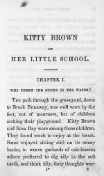 Kitty Brown and her little school
