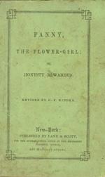 Fanny, the flower-girl, or, Honesty rewarded