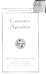 Cooperative agriculture