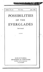 Possibilities of the Everglades