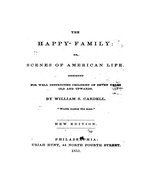 The happy family, or, Scenes of American life