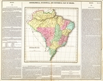 Geographical, statistical, and historical map of Brazil